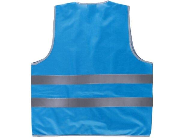 Chaleco fluor azul