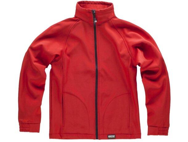 Workshell sport rojo