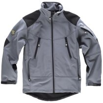 Workshell sport gris negro