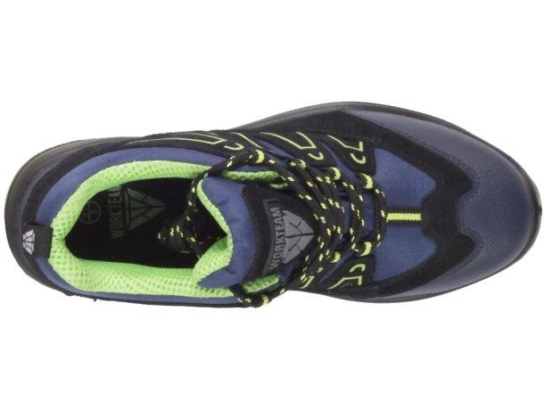 Zapatilla protección marino verde flúor