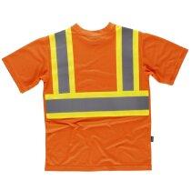 Camiseta fluor naranja av amarillo av