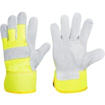 Guante protección gris amarillo a.v.
