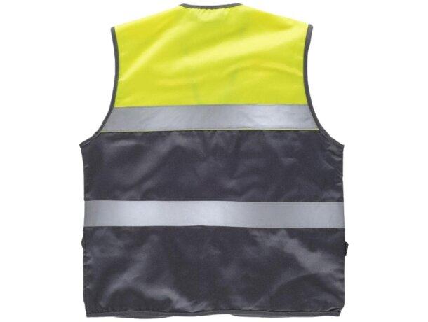 Chaleco fluor gris amarillo a.v.
