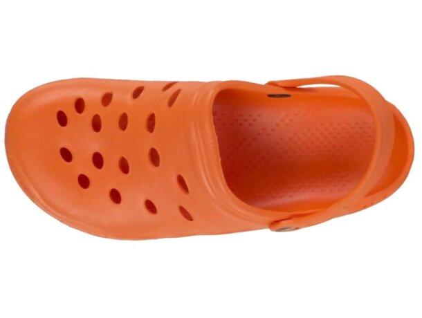 Zueco ultraligero y cómodo naranja