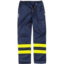 Pantalon reflectante para soldador
