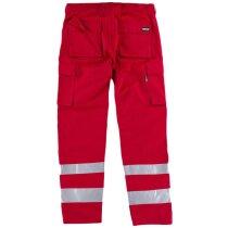 Pantalon fluor rojo