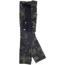 Pantalon sport camuflaje gris negro