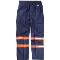 Pantalon fluor marino naranja a.v.