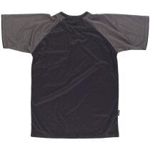 Camiseta future negro gris oscuro