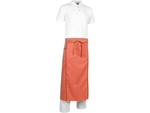 delantal largo de cintura en colores vivos personalizado