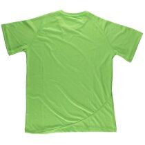 Camiseta básicos verde flúor