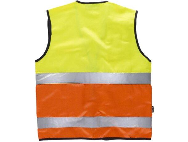 Chaleco fluor amarillo a.v.  naranja a.v.