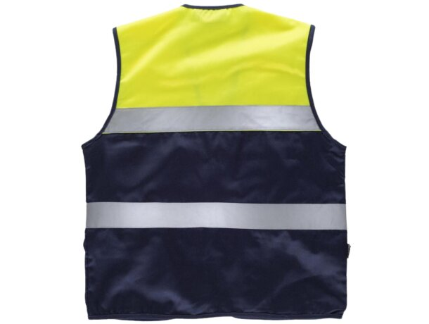 Chaleco fluor marino amarillo a.v.