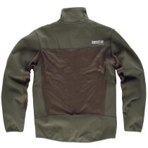 Workshell sport verde caza/marron