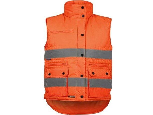 Chaleco acolchado con bolsillos de alta visibilidad barato