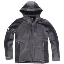 Workshell future gris oscuro negro