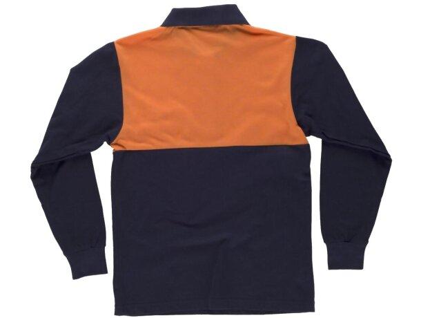 Polo fluor marino naranja a.v.