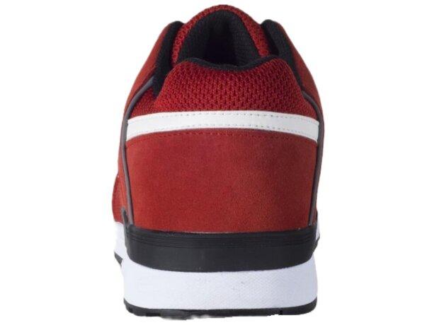 Zapato protección rojo