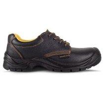 Zapato de piel hidrófugo con cordones