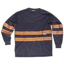 Camiseta fluor marino naranja a.v.