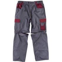 Pantalon future gris granate