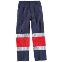 Pantalon fluor marino rojo a.v.