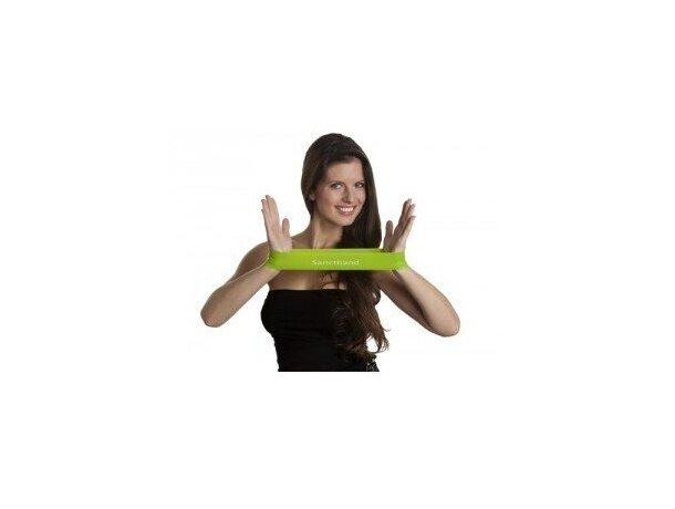Banda cerrada de látex para ejercicios personalizada