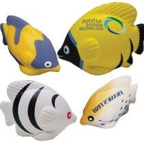 Antiestrés con forma de peces tropicales personalizado