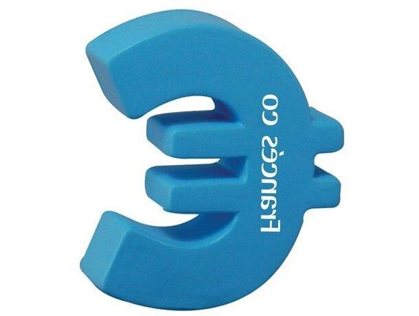 Antiestrés símbolo del euro personalizado