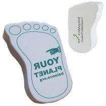 Antiestrés modelo huella pie personalizado