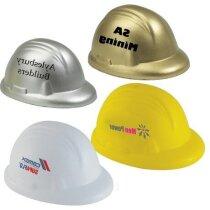 Antiestrés con forma de casco diferentes colores personalizado