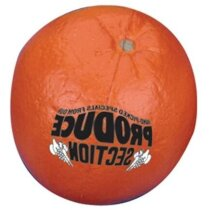 Antiestrés con forma de  naranja personalizado