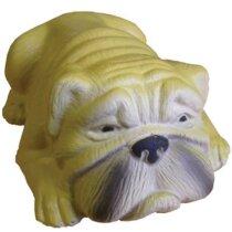Antiestrés  con forma de perro bulldog personalizado