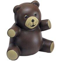 Antiestrés modelo de oso de peluche personalizado
