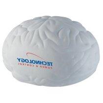 Antiestrés con forma de  cerebro largo personalizado