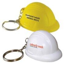 Antiestrés tipo llavero casco personalizado