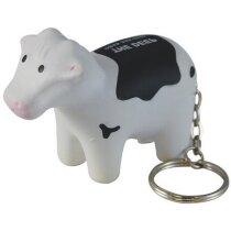 Llavero antiestrés con forma de vaca personalizado
