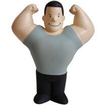 Antiestrés con forma de hombre musculoso