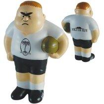 Antiestrés modelo de jugador de rugby