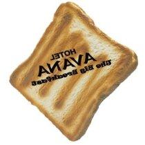 Antiestrés con forma de tostada personalizado
