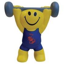 Antiestrés muñeco levantador de peso personalizado