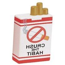 Antiestrés paquete de tabaco personalizado