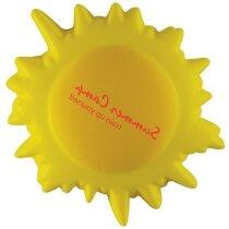 Antiestrés con forma de sol personalizado