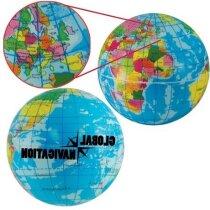 Antiestrés mapa del mundo personalizado