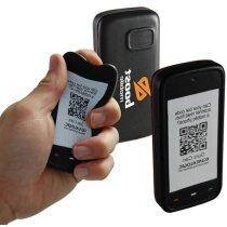 Antiestrés con forma de smartphone personalizada