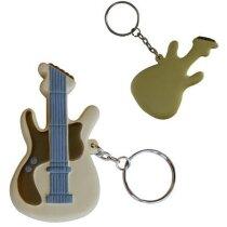 Llavero guitarra antiestrés personalizada