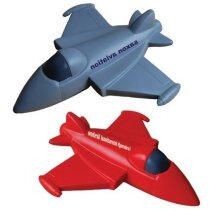 Avión de combate antiestrés personalizado