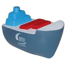 Antiestrés con forma de barco en colores personalizado
