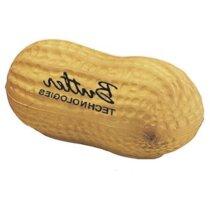 Antiestrés con forma de  cacahuete personalizado