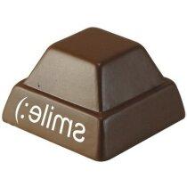 Antiestrés forma de onza de chocolate personalizado